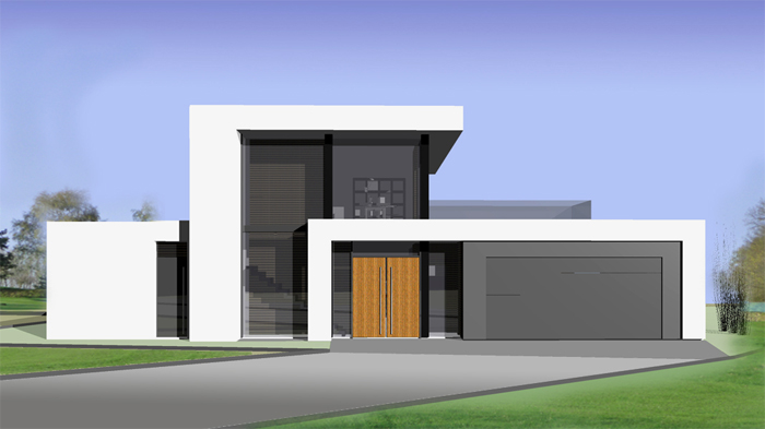 diline architektur - Moderne Haus Architektur